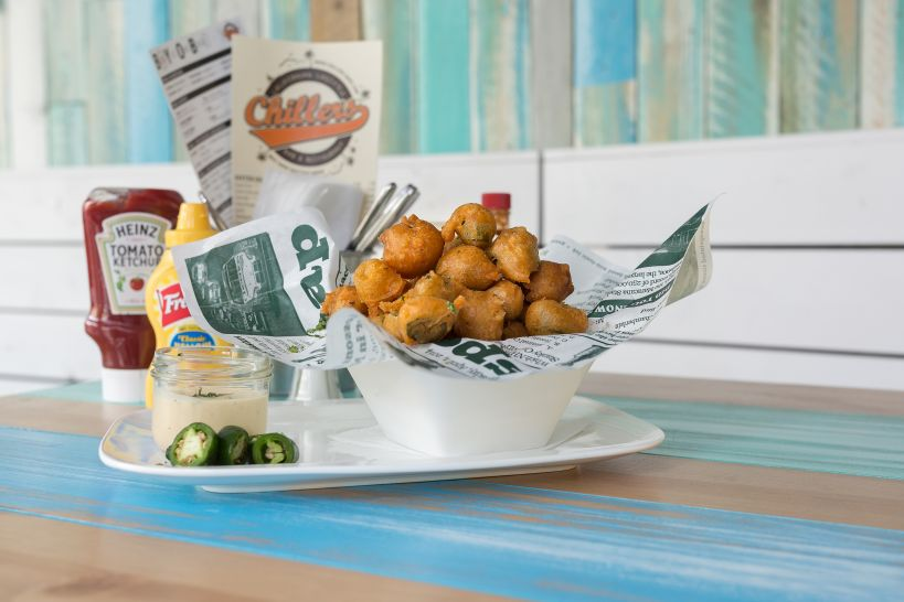 Holla-Peno Peppers mit Ranch Dip