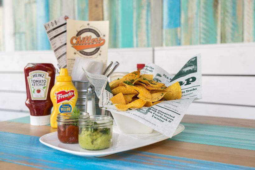 Tortilla Chips y Dips