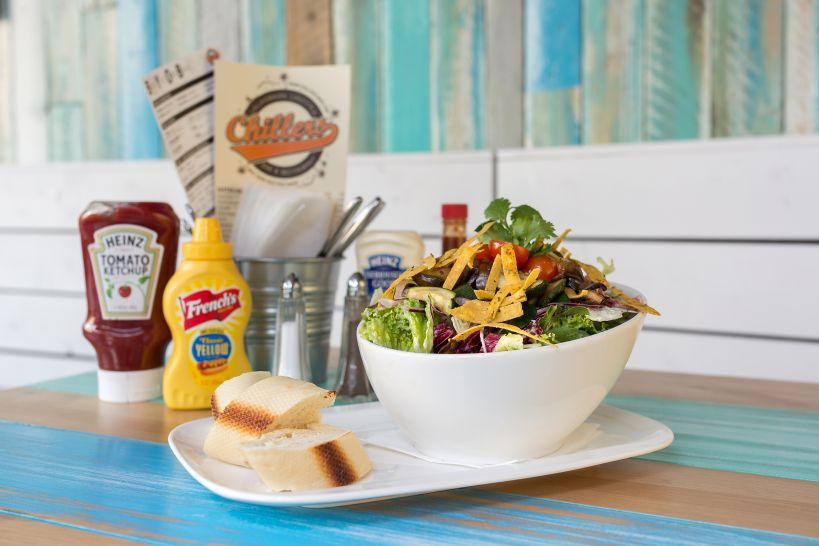 Veggie & Blue Salad