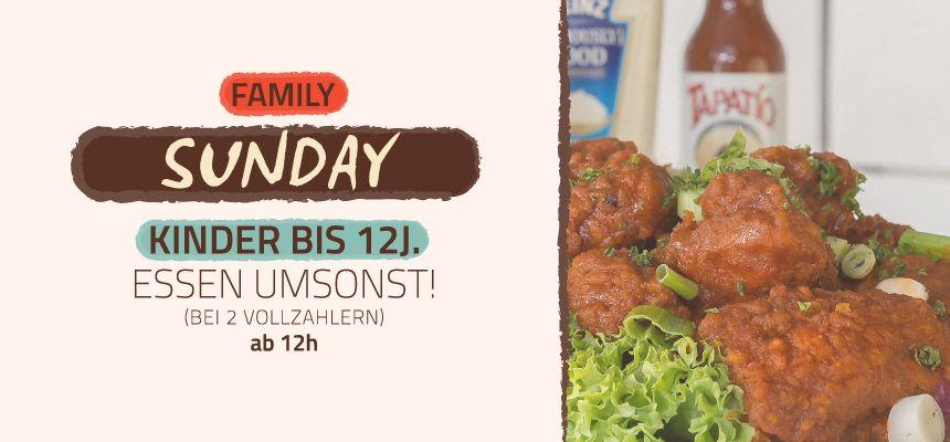 SUNDAY - FAMILY DAY