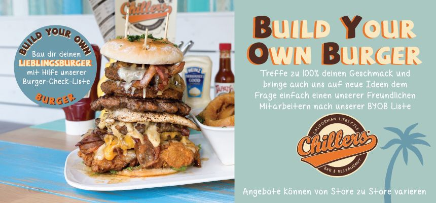 BYOB - Build Your Own Burger
