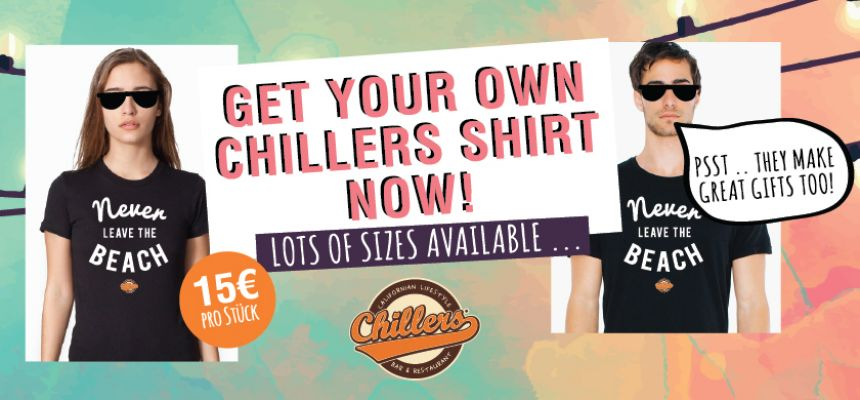 GET YOUR CHILLERS MERCH