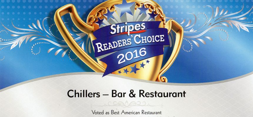 READERS CHOICE AWARD WINNER 2016