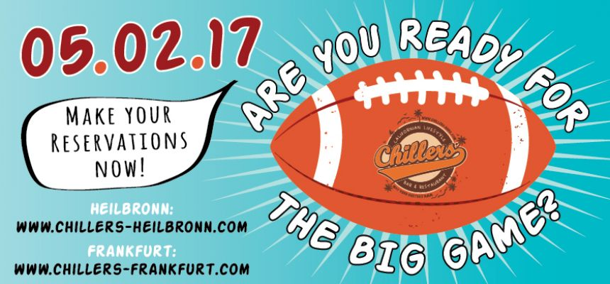 ARE YOU READY FOR THE BIG GAME!